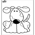 Disegni da colorare Animali - Cani 10