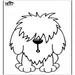 Disegni da colorare  Animali - Cani 11