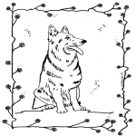 Disegni da colorare  Animali - Cani 4