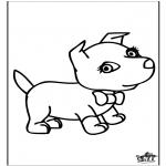 Disegni da colorare Animali - Cani 6