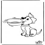 Disegni da colorare  Animali - Cani
