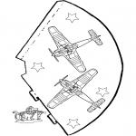 Lavori manuali - Cappello - Aeroplano