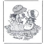 Disegni da colorare Vari temi - Caramelle