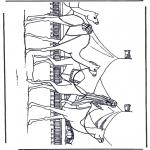 Disegni da colorare Vari temi - Carovana