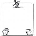Lavori manuali - Carta da lettere 1