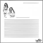 Lavori manuali - Carta da lettere High School Musical