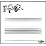 Lavori manuali - Carta da lettere K3