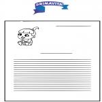 Lavori manuali -  Carta da lettere per bambini Primavita