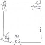 Lavori manuali - Carta da lettere per i piccini