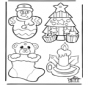 Cartelli per maniglia - Natale 1