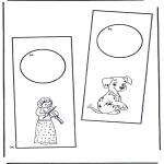 Lavori manuali - Cartello per maniglia 1