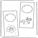 Lavori manuali - Cartello per maniglia 2