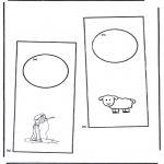 Lavori manuali - Cartello per maniglia 4