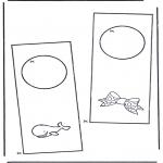 Lavori manuali - Cartello per maniglia 5