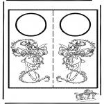 Lavori manuali - Cartello per maniglia 6