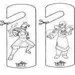Lavori manuali - Cartello per maniglia Avatar