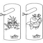 Lavori manuali - Cartello per maniglia - Pokemon
