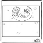 Lavori manuali - Cartolina - bebè 2