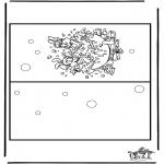 Lavori manuali - Cartolina Bobo