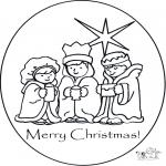Lavori manuali - Cartolina di Natale 1