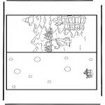 Lavori manuali - Cartolina di Natale 5