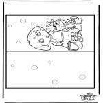 Lavori manuali - Cartolina Dora 2