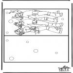 Lavori manuali - Cartolina K3