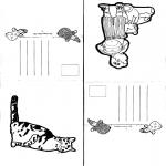 Lavori manuali - Cartoline 1