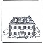 Disegni da colorare Vari temi - Casa 1