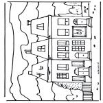 Disegni da colorare Vari temi - Casa 2