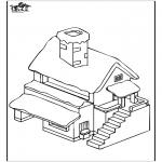 Disegni da colorare Vari temi - Casa 4