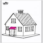 Disegni da colorare Vari temi - Casa 5