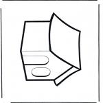 Disegni da colorare Vari temi - Casetta