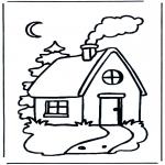 Disegni per i piccini - Casetta per bambini