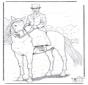 Cavallo con signora