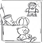 Disegni per i piccini - Colora i giocattoli 1