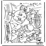 Disegni per i piccini - Compleanno di Dora