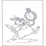 Personaggi di fumetti - Coniglio bianco
