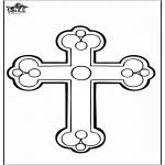 Disegni biblici da colorare - Croce