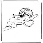 Disegni da colorare Temi - Cupido 3