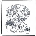 Disegni da colorare Vari temi - Dai lacqua alle piante