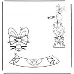 Disegni da colorare Temi - Decorazione di un uovo pasquale 2