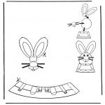 Disegni da colorare Temi - Decorazione di un uovo pasquale 3