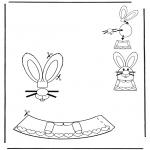 Disegni da colorare Temi - Decorazione di un uovo pasquale 4