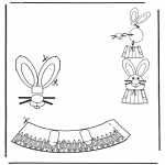Disegni da colorare Temi - Decorazione di un uovo pasquale 5