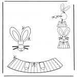 Disegni da colorare Temi - Decorazione di un uovo pasquale 6