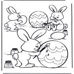 Disegni da colorare Temi - Decorazione di uova