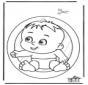Decorazione finestra - bambino