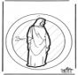 Decorazione finestra Gesù