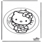 Decorazione finestra Hello Kitty